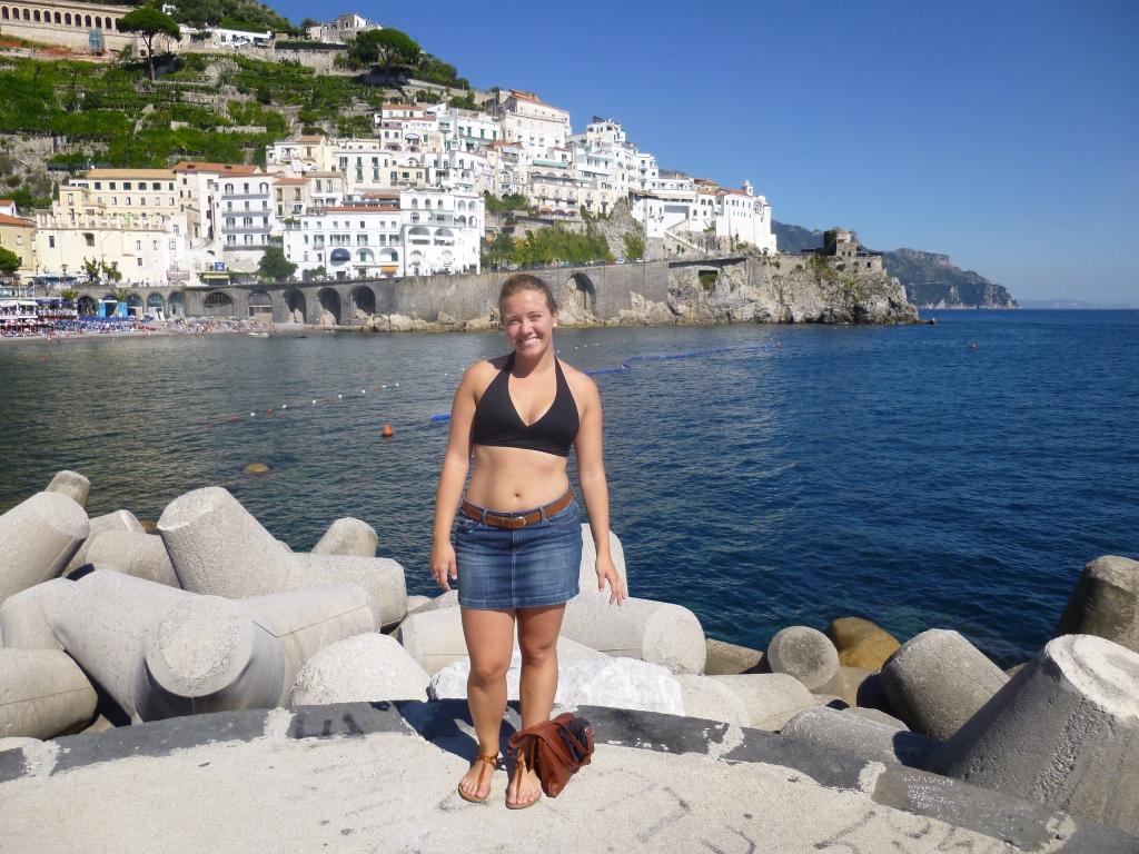 Me in Amalfi
