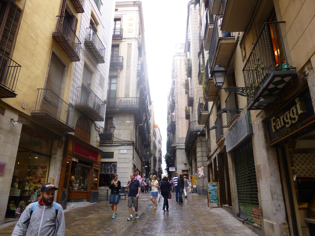 Streets in Barri Gotic