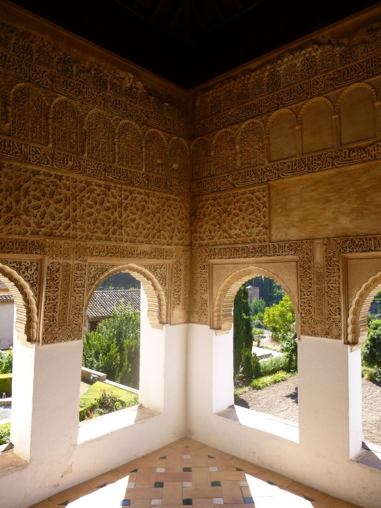 Some beautiful architecture, Alhambra