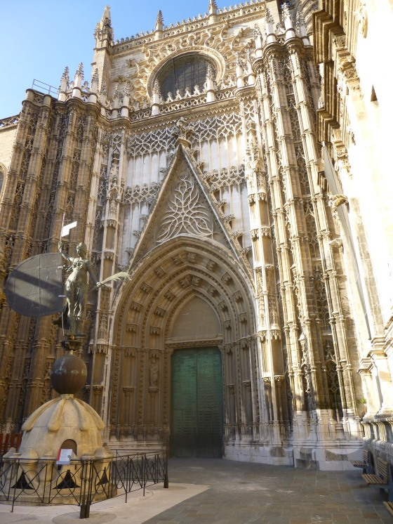 The cathedral, Sevilla