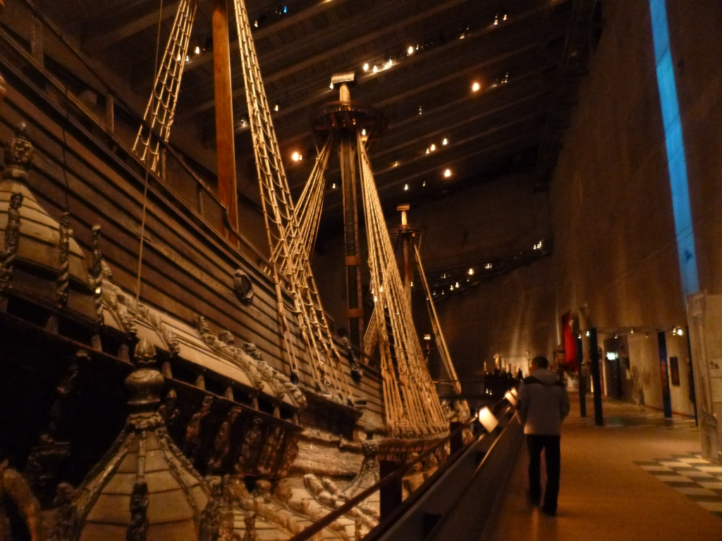 The Vasa from the upper deck