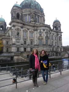 Xenia and I by the Berliner Dom